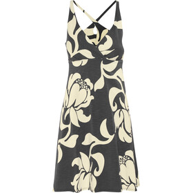 Patagonia W's Amber Dawn Dress Exotic Floral: Ink Black
